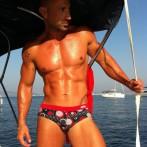Male stripper Ibiza, Hire stripper in Ibiza, Ibiza stripper Danilo1, stag do Ibiza, hen do Ibiza, Ibiza boat trip