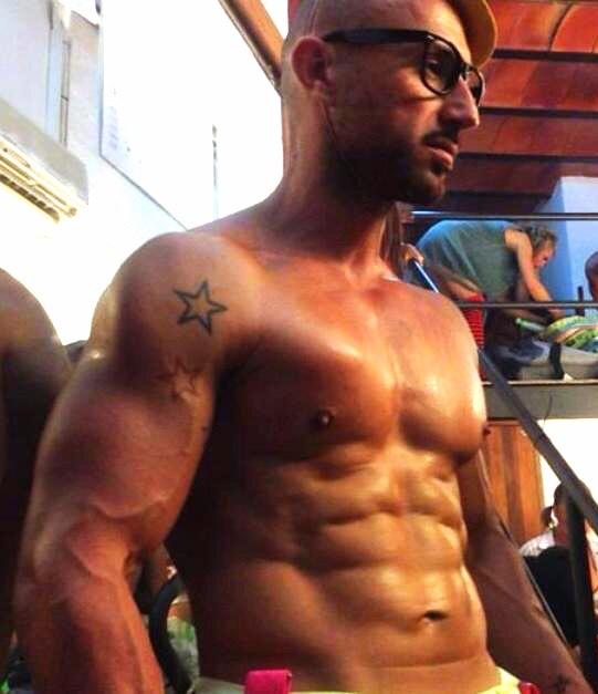Male stripper Ibiza, Hire stripper in Ibiza, Ibiza stripper Danilo2, stag do Ibiza, hen do Ibiza
